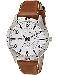 Timex Analog White Dial Men's Watch - TW000U927