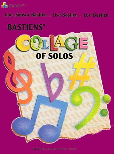 WP402 - Collage of Solos Book 2 - Bastien by Jane Smisor Bastien (1996-01-01)