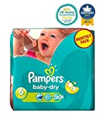 Pampers Baby-Dry Windeln Größe 6 Monatspackung - 124 Windeln - Packung mit 2