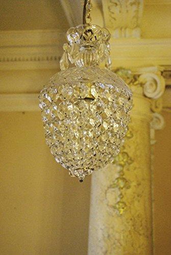 alter Kronleuchter, Lüster, Lampe, antique chandelier C03 (Kronleuchter Alten)