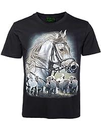 T-Shirt Pferd Pferde Pony Fun Lustig Geschenk Pfeif auf den Prinzen