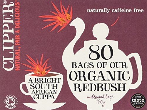 CLIPPER Organic Redbush Teabags 80bags (PACK OF 1)