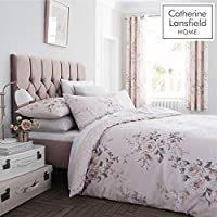 Catherine Lansfield Canterbury Easy Care Double Duvet Set Blush