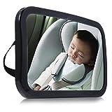 Rücksitzspiegel für Babys Autospiegel Babyspiegel Auto Rückspiegel für Babyschalen Spiegel Größe:245x175mm