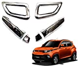 #9: Auto Pearl - Premium Quality Car Chrome Door Handle Latch Cover - Mahindra KUV 100