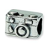 Sterling Silber Reflexionen Kinder Kamera Charm Bead - 2