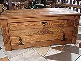 Unbekannt Massive Handgemachte Holzkiste Truhe Box Holz Tisch Antik Dekoration KS2