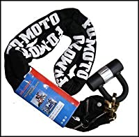 FD-MOTO 1.2Mx10MM Heavy Duty Bike Scooter Motorbike Motorcycle Chain Lock Padlock High Safety Security