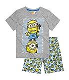 Minions Shorty-Pyjama - blau - 128