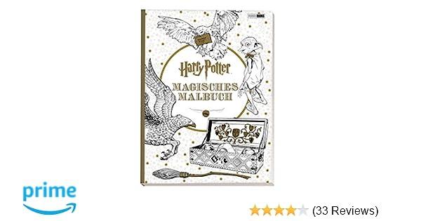 Harry Potter Magisches Malbuch Amazon De Bücher