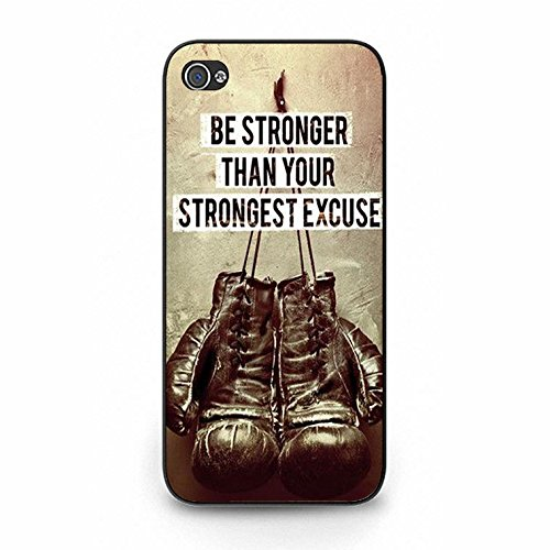 Boxing Iphone 5/5s Case Hot Cool Design Boxing Phone Case Cover for Iphone 5/5s Fight Black Color141d