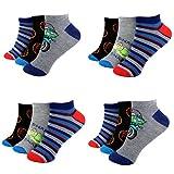 12 Paar Kids Jungen Socken Kinder Sneaker Strümpfe 95% Baumwolle