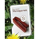Wurst Quartett Original Wurstquartett Metzger Trumpf Kartenspiel by Lutter UG