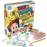 Mundstück Challenge Party Family Talk Spiel über 600 Sätze mit Bonuskarten