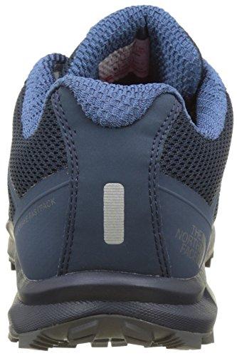 The North Face Litewave Fastpack, Scarpe da Arrampicata Basse Uomo Blu (Shady Blue/zinc Grey)