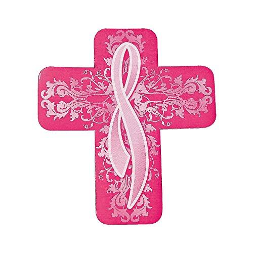 Religiöse Brustkrebs Bewusstsein Auto Magnete (12Pack) Vinyl. 17,8cm Brustkrebs Bewusstsein