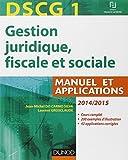 DSCG 1 - Manuel et Applications, Corrigés inclus