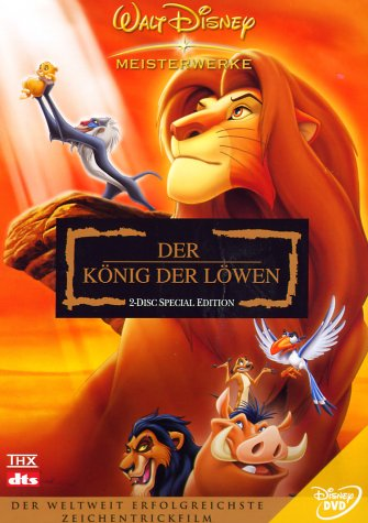 Walt Disney Der König der Löwen (Special Edition, 2 DVDs)