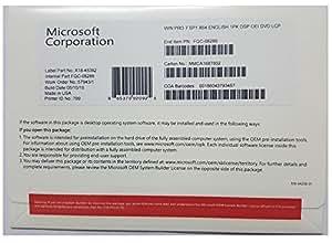 Microsoft Windows 7 PRO SP1 64-bit OEM