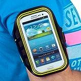 """YAYAGO Sportarmband Oberarmtasche Oberarm Tasche / Armband Sport Tasche für Ihr Nokia Lumia 900 zum Joggen / Fitness in """"NEON GRÜN"""""""