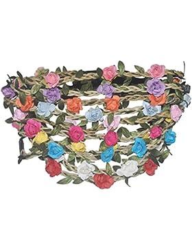 Junge Mädchen-Frauen-böhmische Art-Blumen-Stirnband-Girlande-Haar-Bänder Satz von 10 Farben