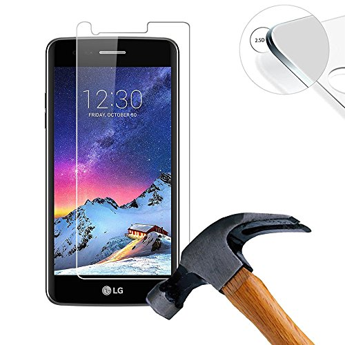 luseer-2-x-pack-tempered-glass-screen-protector-for-lg-k8-2017-50-inch-screen-protector-protective-s