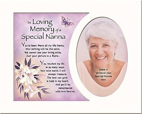 Speicher kann Gedenktafel In Loving Memory Of A Special Nanna