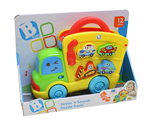 B kids 4704 Bkids Sirens N Sounds Puzzle Truck - Best Price