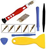 Buyyart New Professional Cell Phone Screwdriver Set Repair Opening Tool Kit for iPhone 6/6S/iPhone 5/5S/Mobile Phone