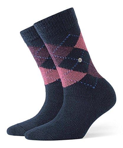 BURLINGTON Damen Socken Whitby, Warm Und Weich, 1 Paar, Blau (Navy 6156), Größe: 36-41
