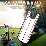 Tbest Espejo de Golf para Entrenamiento, Corrector, Entrenamiento, Entrenamiento, para balanceo Completo