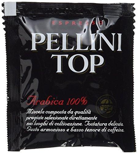 Pellini Caffè Top 100% Arabica, E.S.E. Servings Gemahlen, 1er Pack (1 x 1.05 kg)