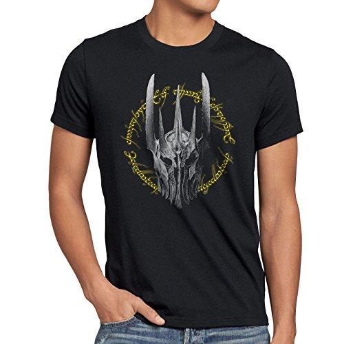 style3 Dunkle Ringe Herren T-Shirt Neuseeland Auenland, Größe:M