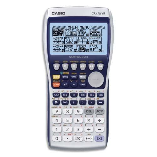Casio Graph 95 Calculatrice Graphique 21 chiffres