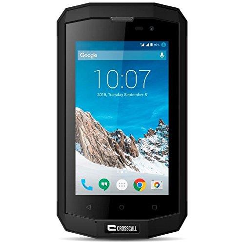 Crosscall TREKKER-S1 8GB 4G Negro - Smartphone (SIM doble, Android, MicroSIM, EDGE,...