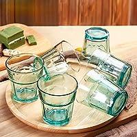 Design unique, couleur, corps transparent, ne se décolore pas, facile à nettoyerLe verre vous rend plus en sécuritéparamètre:Matériau: verre sans plombProduction: à la mainCapacité: 280mltaille: 8.5x9cmCouleur: bleu, vert, marron, bleu royalListe de ...