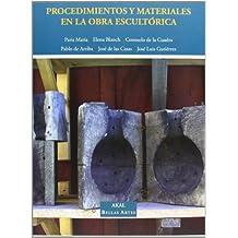 Procedimientos y materiales en la obra escultórica (Bellas Artes)