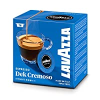 Lavazza A Modo Mio Coffee Capsules Dek Cremoso Pack of 16