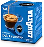 Lavazza A Modo Mio Dek (Decaffeinated) Cremoso 16 Coffee Capsules (Pack of 1)