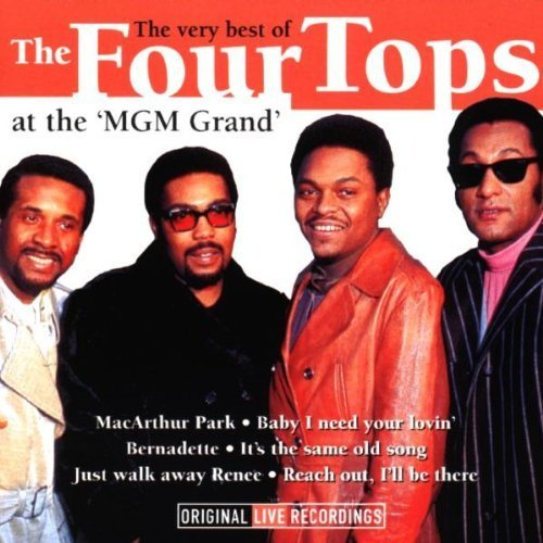 Very Best of Live by Four - Four Tops-live
