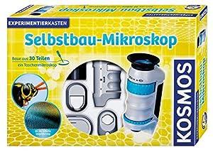 Kosmos 634025 Juguete y Kit de Ciencia para niños - Juguetes y Kits de Ciencia para niños (Física, Microscopio, 8 año(s), 332 mm, 66 mm, 225 mm)