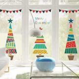 Wall Sticker,Merry Christmas Tree Wall Sticker Living Room Decal Show Window Home Decor
