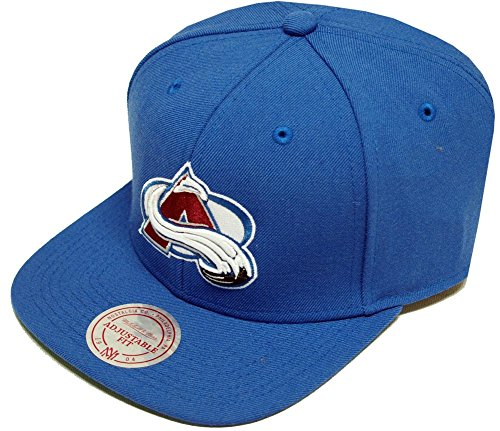 Mitchell & Ness Colorado Avalange Wool Solid Snapback Cap NZ980 Kappe Basecap
