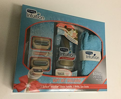 schick-intuition-pure-intuition-gift-set-with-spa-socks-by-schick