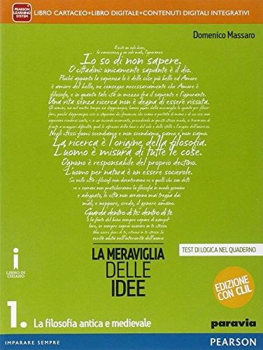 Meraviglia delle idee. Con CLIL. Per le Scuole superiori. Con e-book. Con espansione online: 1