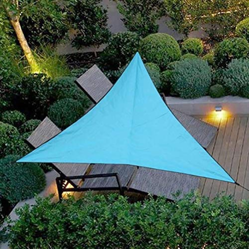 Ailyoo Toile Solaire Voile d'ombrage,Voile d'ombrage Triangle HDPE UV Résistant Anti UV Ombrager pour Jardin terrasse Une...