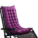Clevoers Sedile Cuscino–Cuscino Premium–Sedile Cuscino Perfetto per sedie reclinabili, sedie a Dondolo, Altalena per Pausa Pranzo D