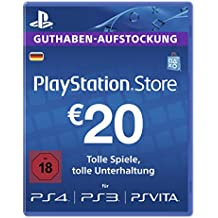 Playstation Live Card Eur 20 (Für Deutsche Sen-Konten) [Importación Alemana]