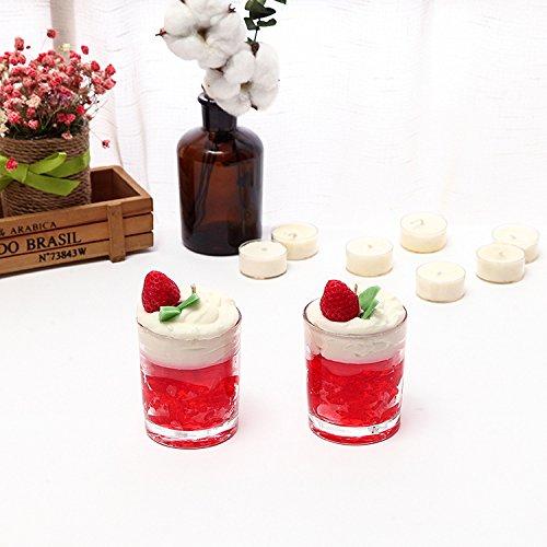 QingToo Der dekanter Aromatherapie_Eis Kerzen für einfache Glas Flasche Glas grün Aromatherapie...