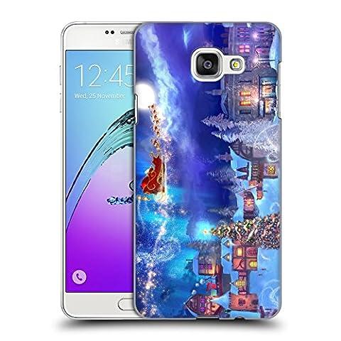 Offizielle Joel Christopher Payne Weihnachtswunsch Urlaubszeit Ruckseite Hülle für Samsung Galaxy A7 (2016)